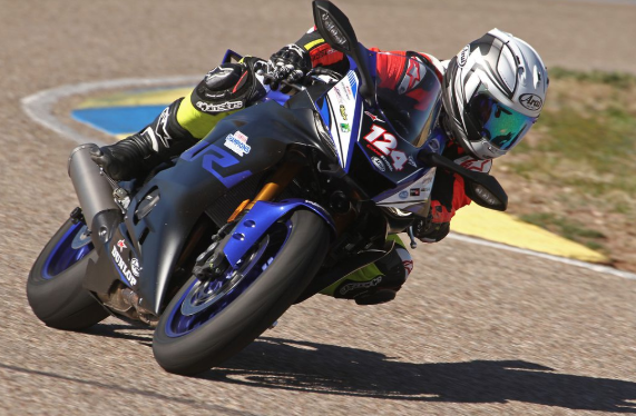 Motorcycle Track Therapy For A Combat Marine