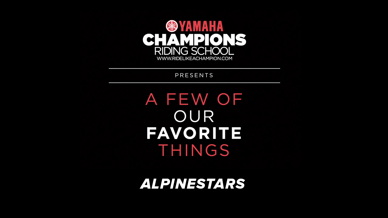 YCRS // A Few of Our Favorite Things // Alpinestars