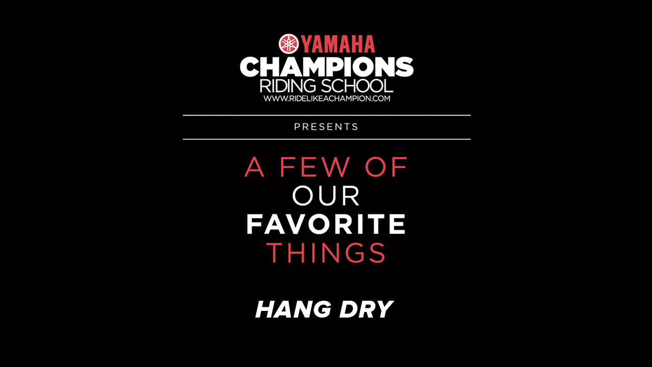 YCRS // A Few of Our Favorite Things // Hang Dry