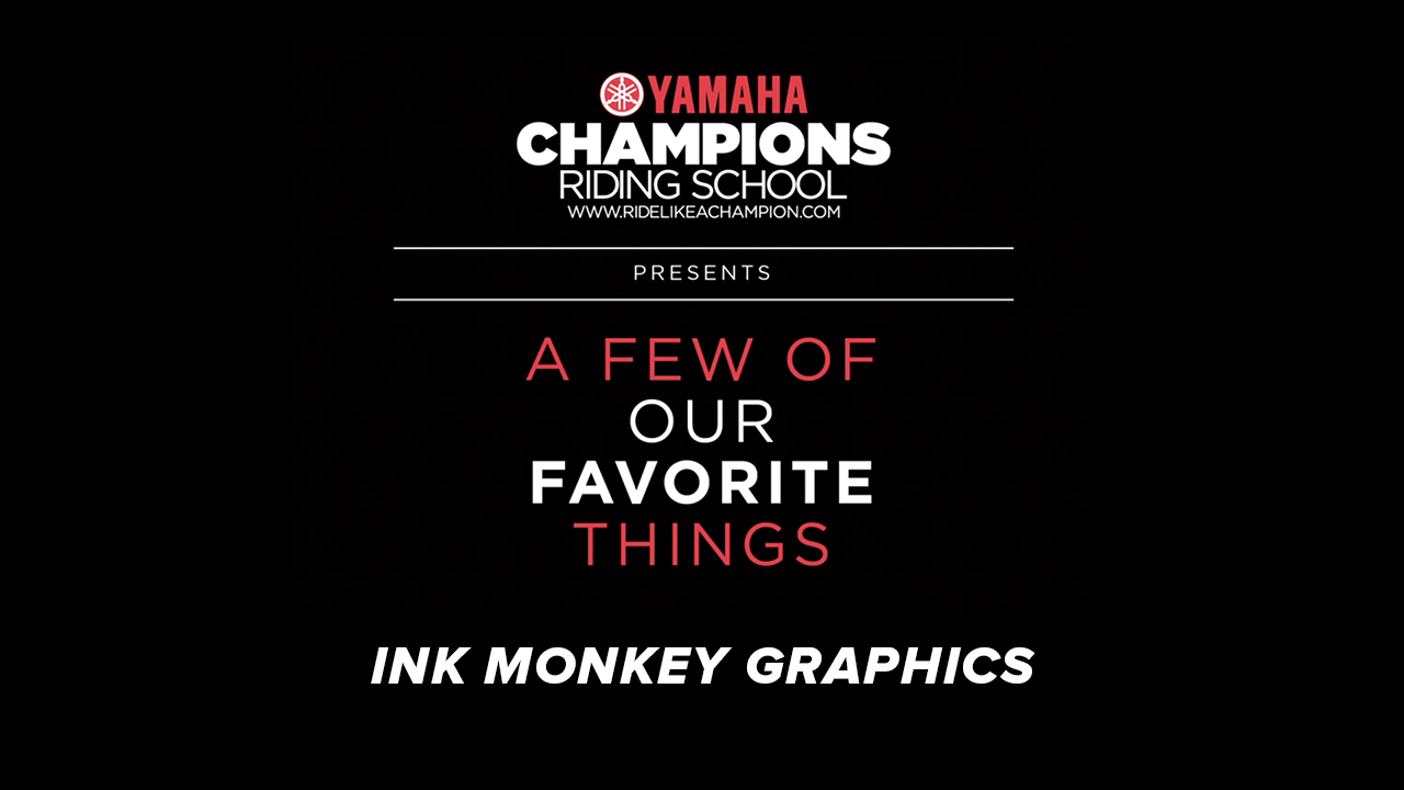 YCRS // A Few of Our Favorite Things // Ink Monkey Graphics