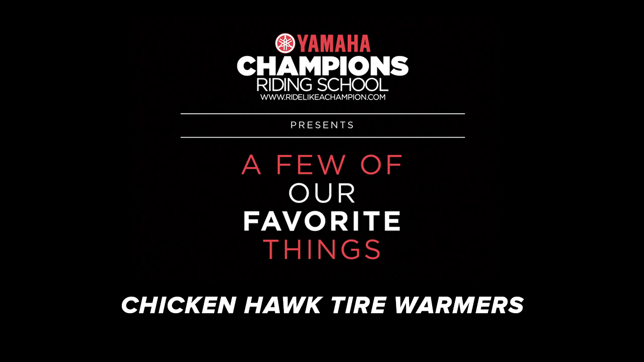 YCRS // A Few of Our Favorite Things // Chicken Hawk Tire Warmers