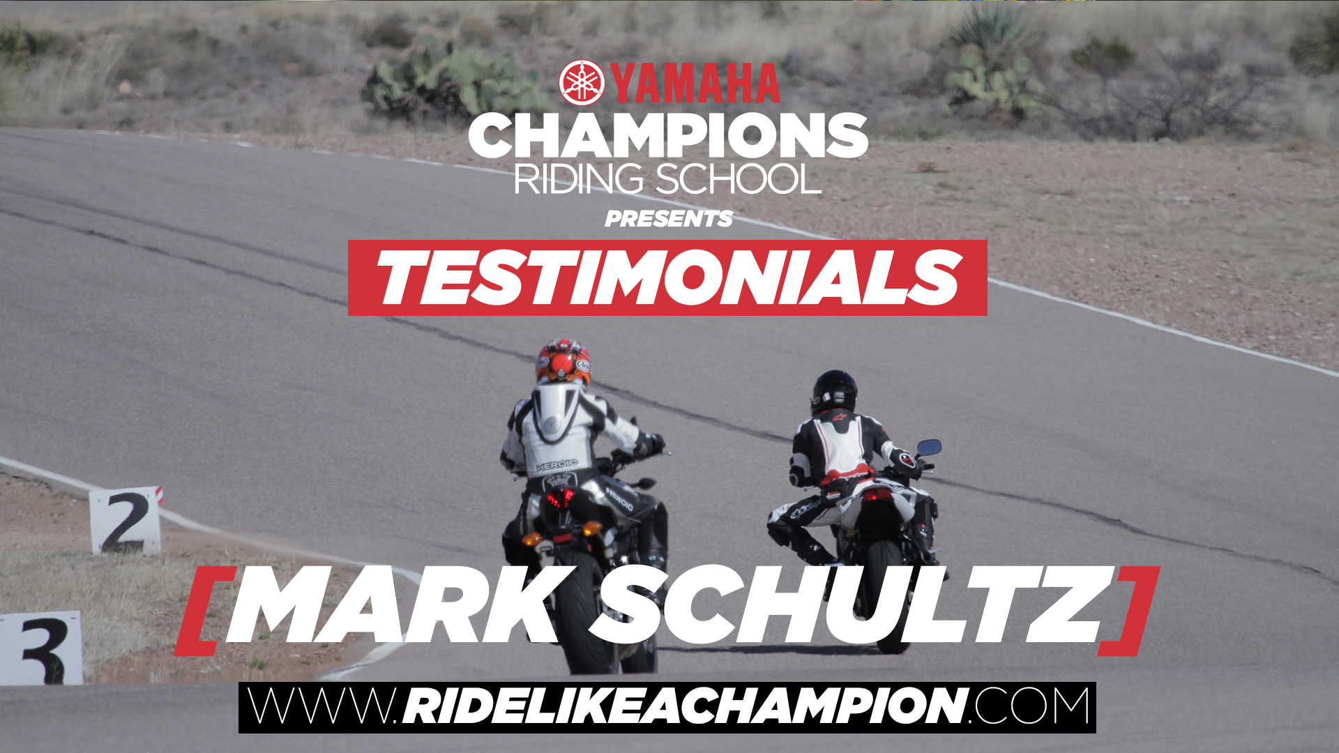 Mark Schultz // Yamaha Champions Riding School Testimonial