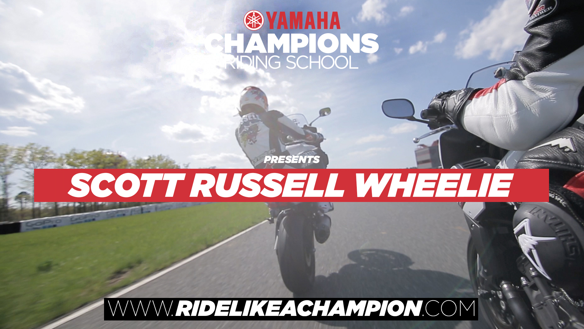 Scott Russell // FZ-1 Wheelie